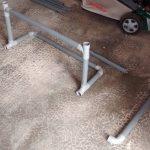 Rack Windsurf PVC Début de montage