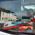 Rack Windsurf PVC Renault Trafic hayon fermé